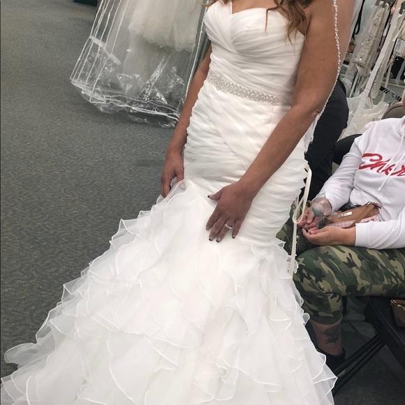Dresses | Brand New Never Worm Wedding Dress | Poshmark